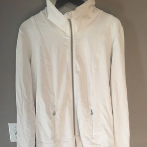 Lululemon size 12 jacket cream